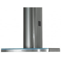 Rangemaster Elite 110cm Stainless Steel Glass Chimney Hood ELTHDC110SG/ 69230