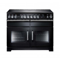 Rangemaster Excel 110 Ceramic Black Range Cooker EXL110ECBL/C 81010