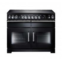 Rangemaster Excel 110 Induction Black Range Cooker EXL110EIBL/C 97430