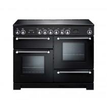 Rangemaster Kitchener 110 Ceramic Black Range Cooker 78860