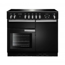 Rangemaster Professional Plus 100 Induction Black Range Cooker PROP100EIGB/C 96030