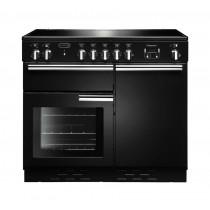 Rangemaster Professional Plus 100 Induction Black Range Cooker 96030