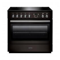 Rangemaster Professional Plus FX 90 Induction Black Range Cooker 96310