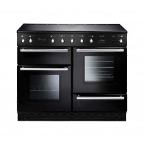Rangemaster Toledo 110 Induction Black Range Cooker 88030