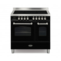 Britannia Fleet 90 Twin - 5 Induction Zones Black Range Cooker