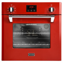 Stoves STRICH600MF 60cm Built-In Red Electric Single Multifunction Oven