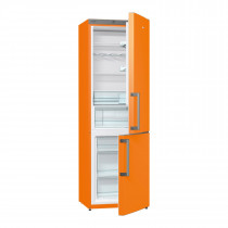 Gorenje RK6192EO 185cm Freestanding Juicy Orange Fridge Freezer