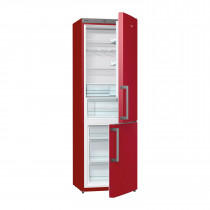 Gorenje RK6192ER 185cm Freestanding Bordeaux Red Fridge Freezer