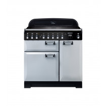Rangemaster Elan Deluxe 90 Induction Royal Pearl Range Cooker ELA90EIRP/ 118420