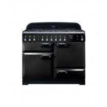 Rangemaster Elan Deluxe 110 Dual Fuel Black Range Cooker ELA110DFFBL/ 118000