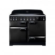 Rangemaster Elan Deluxe 110 Induction Black Range Cooker ELA110EIBL/ 117780