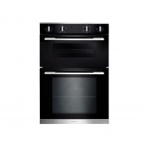 Rangemaster 90cm Built-In 4/5 Functions Double Oven RMB9045BL/SS 112190