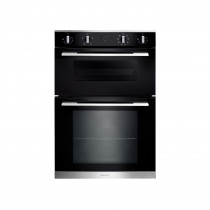 Rangemaster RMB9048BL/SS Built-In Double Oven