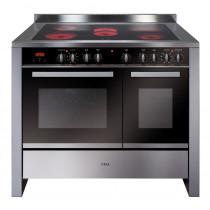 CDA Ceramic Range Cooker 100 Stainless Steel RV1061SS