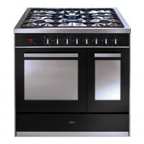 CDA 90 twin cavity range cooker RV921SS