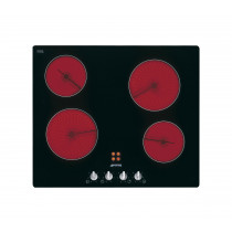 Smeg Cucina 60 Black Glass Ceramic Hob
