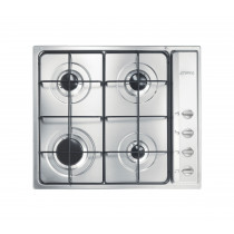Smeg S64S Cucina 60 Stainless Steel Gas Hob