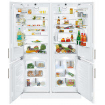Liebherr SBS66I2 Premium Side-By-Side Built-In Fridge Freezer