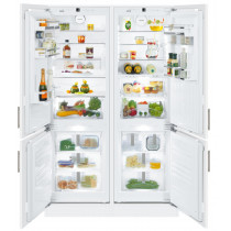 Liebherr SBS66I3 Premium Side-By-Side Built-In Fridge Freezer