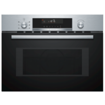 Bosch Serie 6 Compact 45cm Microwave Combination Oven CMA585MS0B