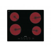 Smeg Cucina SE2640TD2 60 Black Glass Ceramic Hob