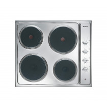 Smeg Cucina 60 Stainless Steel Electric Hob