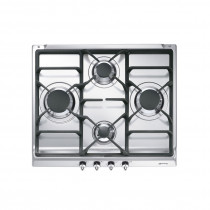 Smeg SE60SGH3 Classic 60 Stainless Steel Gas Hob