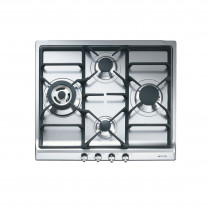 Smeg SER60SGH3 Classic 60 Stainless Steel Gas Hob
