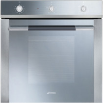Smeg SF102GV Linea Built-In 60cm Stainless Steel Single Gas Oven