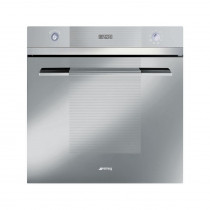 Smeg Linea Built-In 60 Silver Glass Single Oven