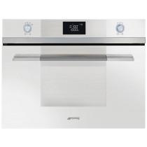 Smeg SF4120MB Linea White Compact Microwave Oven