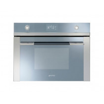 Smeg SF4120VC Linea Built-In 45cm Stainless Steel Compact Combination Steam Oven