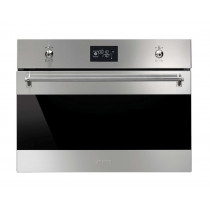 Smeg Classic Built-In 45 Stainless Steel Compact Combination Steam Oven