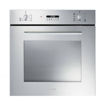 Smeg Cucina Built-In 60 Stainless Steel Single Oven