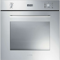 Smeg Cucina Built-In Pyrolytic 60 Stainless Steel Single Oven