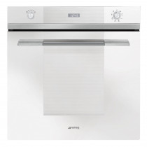 Smeg Linea Built-In Pyrolytic 60 White Single Oven