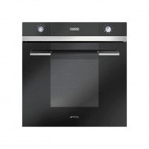 Smeg Linea Built-In Pyrolytic 60 Black Single Oven