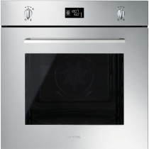 Smeg Cucina Pyrolytic 60cm Stainless Steel Single Oven