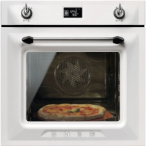 Smeg Victoria Built-In Pyrolytic 60 White Multifunction Oven SFP6925BPZE1