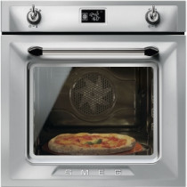 Smeg Victoria Built-In Pyrolytic 60 Stainless Steel Multifunction Oven SFP6925XPZE1