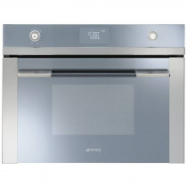 Smeg SF4120M Linea Stainless Steel Compact Microwave Oven