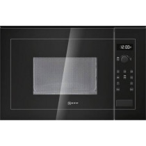 Neff 20 Litre 800W Built-in Black Microwave Oven