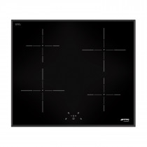 Smeg SI5643B 60 Black Glass Induction Hob