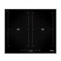 Smeg SIM562B 60 Black Glass MultiZone Induction Hob