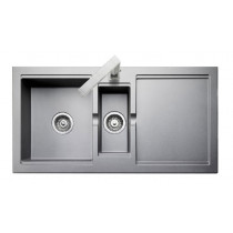 Rangemaster Cubix Granite Grey Sink