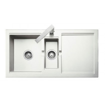 Rangemaster Cubix Granite White Sink