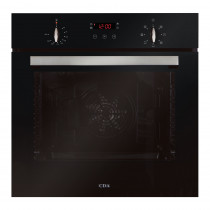 CDA Seven Function Black Electric Multi-Function Oven SK310BL