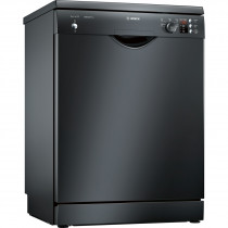 Bosch Serie 2 SMS25AB00G 60 Black Freestanding Dishwasher