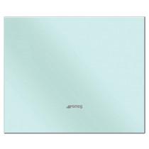 Smeg 90x75 Pastel Blue Glass Splashback
