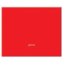 Smeg 90x75 Red Glass Splashback
